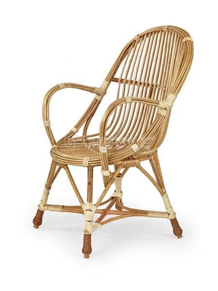 wicker-fotel